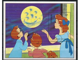 Grenada Walt Disney Peter Pan Block/** 1987