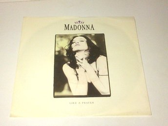 Madonna - Like a Prayer / Act of contrition, vinyl EP