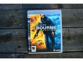 Playstation 3 PS3 Robert Ludlums The BOURNE conspiracy
