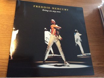 "Freddie Mercury Living on my own 12"" UK"