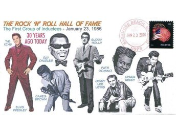 30th Rock 'n' Roll Hall of Fame 1st Inductees Cover Elvis
