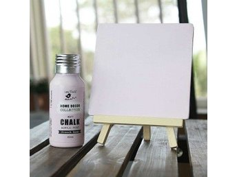Chalk Paint French Rose 60 ml - Heberg - Chalk Paint French Rose 60 ml - Heberg