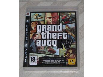 GTA IV - (PS3) Playstation 3 - Play Station - Grand Theft Auto 4 -