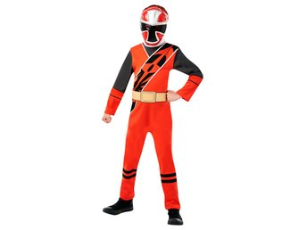 RED RANGER 122 128 cl (7-8 år) POWER RANGERS NINJA STEEL b70c9ab061c88