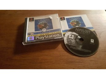 POPULOUS THE BEGINNING PS1 BEG