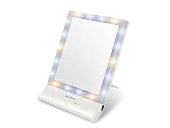 make up spegel med belysning