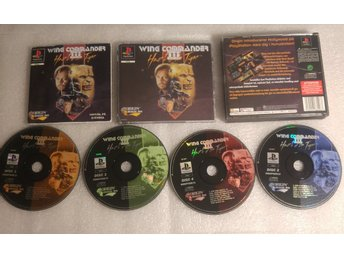 Wing Commander III: Heart of the Tiger Till Playstation! Komplett! 1kr