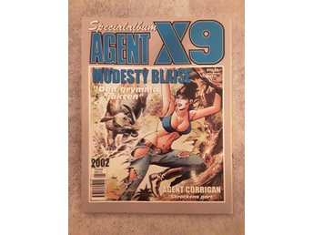 Modesty Blaise, Agent X9 Specialalbum 2002