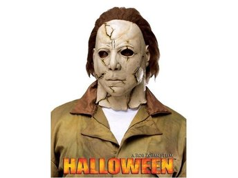 Halloween Michael Myers Latex Mask Rob Zombie Adult Costume Accessory, One Size.