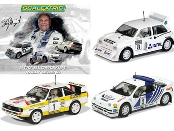 Stig Blomqvist Rally Legend - Limited Edition 3-pack .... SCALEXTRIC