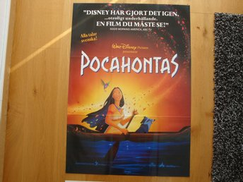 POCAHONTAS 70x100 1995 Animation, WALT DISNEY
