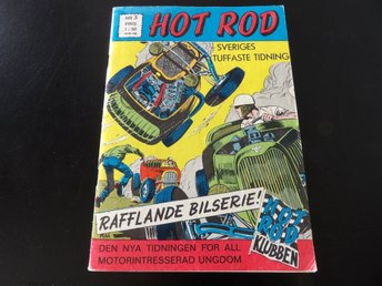 HOT ROD nr.3 1969 - FRAKTFRITT!