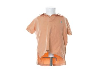 Polo Ralph Lauren, Pikétröja, Strl: 104, Orange/Blå