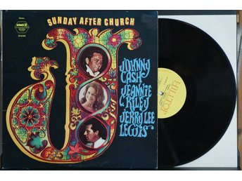 Johnny Cash-Jeanie C Riley-Jerry Lee Lewis – Sunday After Church – LP