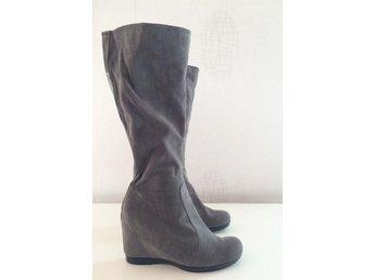 Clarks mocka boots stövel engelska vintage skin.. (335455054) ᐈ Köp ... 7323b095b1ae2