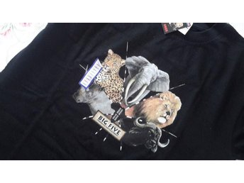 Big five ny t shirt tshirt svart large kort ärm prislapp sydafrika south africa - Uddevalla - Big five ny t shirt tshirt svart large kort ärm prislapp sydafrika south africa - Uddevalla