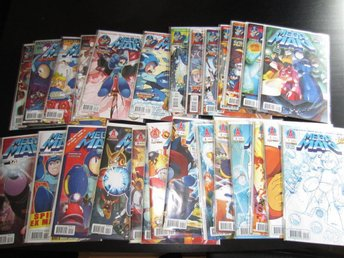 27 st MEGA MAN (Archie Comics) Serietidningar Nyskick/NYA! - Solna - 27 st MEGA MAN (Archie Comics) Serietidningar Nyskick/NYA! - Solna