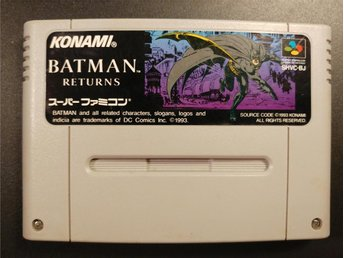 Batman Returns till Super Famicom | beat em up