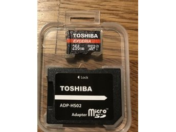 Toshiba EXCERIA 256gb microsd NYTT! - Karlstad - Toshiba EXCERIA 256gb microsd NYTT! - Karlstad