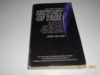 STAR TREK - JAMES VAN HISE The Unauthorized History of TREK, pocket Harper USA