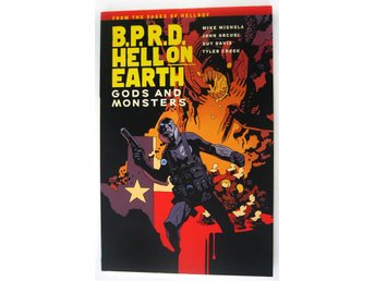 B.P.R.D. Hell on Earth Volume 2:Gods and Monsters av Mike MignolaTPB (HELLBOY)