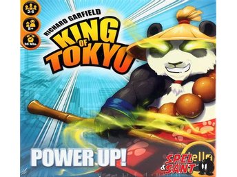 King of Tokyo Power Up! Expansion (2017 Version)