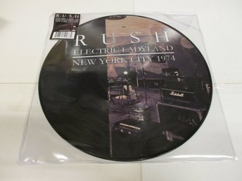 Rush (LP) - Electric Ladyland New York City 1974 (Picture Disc) - Ospelad!
