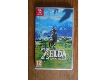 Zelda Breath of the Wild Nintendo Switch