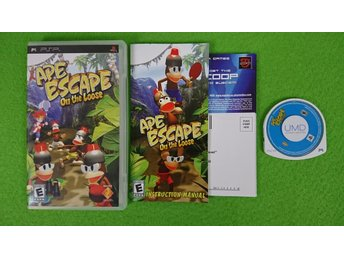 Ape Escape on the Loose Playstation Portable PSP