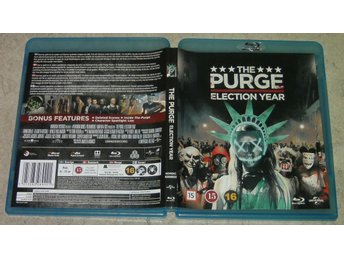 Blurayfilm : The Purge - election year (The Purge 3)
