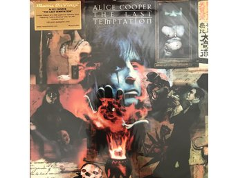 ALICE COOPER - THE LAST TEMPTATION NY 180G FLAMING VINYL LIMITED