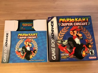 Gameboy Advance Mario Kart Super Circuit?