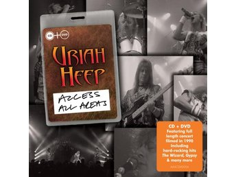 Uriah Heep: Access all areas/Live 1990 (CD + DVD)