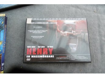 Henry en massmördare - Ocensurerad Collectors Edition - DVD med svensk text
