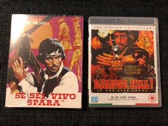 DJANGO KILL (1967, THOMAS MILIAN, SLIPCOVER, 88 FILMS, BLU-RAY)
