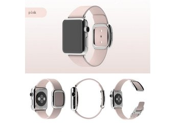 Modern Style Apple watch band 42mm rosa