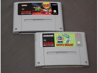 Daffy Duck & Tiny Toon - Buster Busts Loose SNES Super Nintendo Looney Tunes