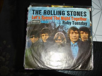 The Rolling Stones-Let´s spend the night together-singel