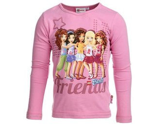 LEGO WEAR T-SHIRT FRIENDS, ROSA (116)