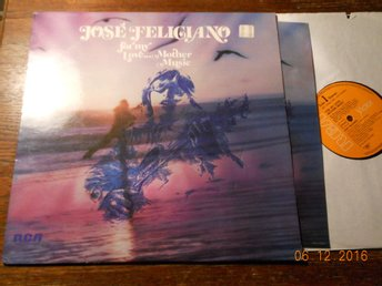 JOSÉ FELICIANO - For my love... Mother Music, LP RCA 1974 Tyskland