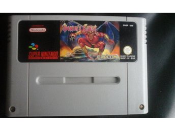 Demons Crest SNES Super Nintendo Game