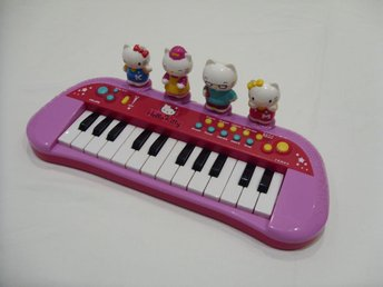 Hello Kitty & Sanrio Leksaks Piano för barn toy piano for kids cats katt - överkalix - Hello Kitty & Sanrio Leksaks Piano för barn toy piano for kids cats katt - överkalix