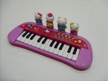 Hello Kitty & Sanrio Leksaks Piano för barn toy piano for kids cats katt