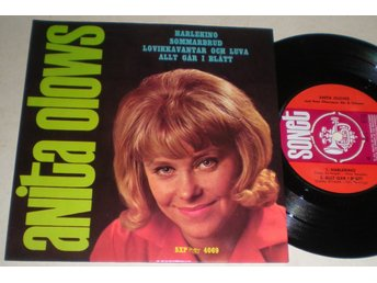 Anita Olows EP/PS Harlekino 1965 VG++