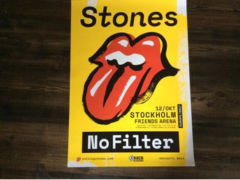 The Rolling Stones turneaffisch 2017