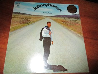 JOHNNY HORTON - On the road, LP Columbia USA 1969 SEALED