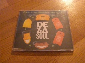 DE LA SOUL Ring ring (ha ha hey) cd singel
