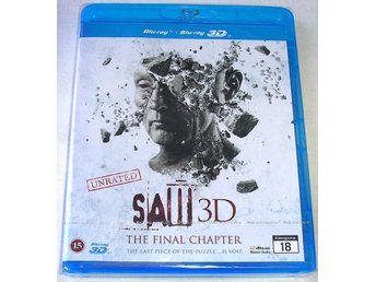 Saw - The Final Chapter 3D (Blu-ray) **HELT NY**