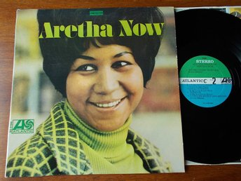 ARETHA FRANKLIN - Aretha Now, LP Atlantic USA 1968