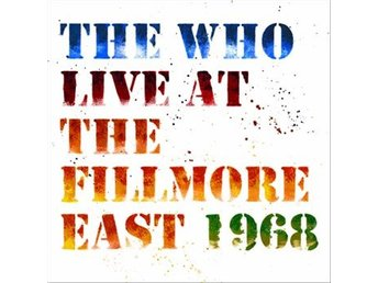 Who: Live at Fillmore East 1968 (Digi/Rem) (2 CD)
